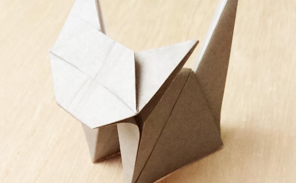 立体 動物 折り紙