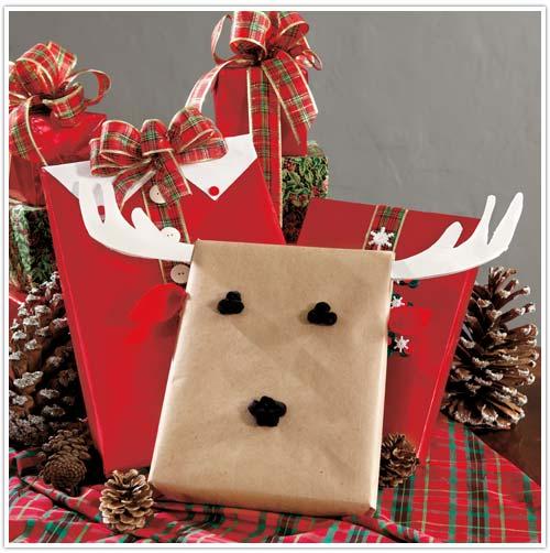 weboo more than 100 cool diy christmas gift wrapping ideas 3 cute christmas gift wrap ideas via ballardstylestudioshelterness negle Choice Image