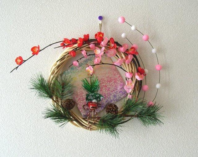 簡単 折り紙 クリスマス 簡単 折り紙 : 手作りのお正月飾りで、新しい ...