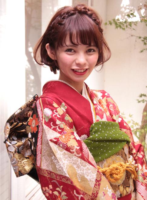 成人式・卒業式の振袖や着物に似合うヘアアレンジ集【2015】