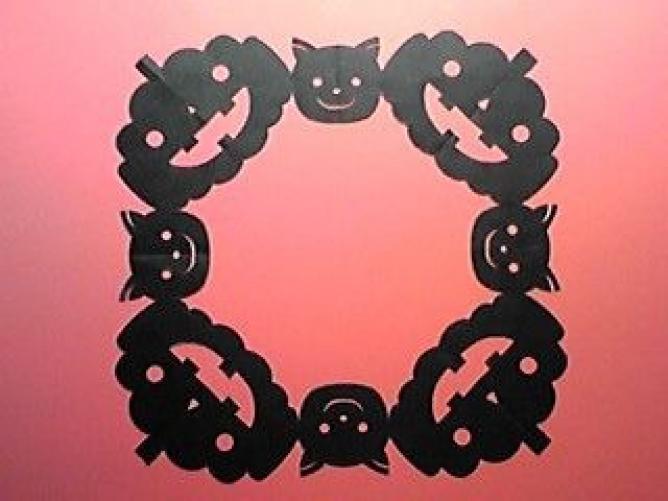 すべての折り紙 ハロウィン 飾り 折り紙 : ハロウィンに!子どもと作れる ...
