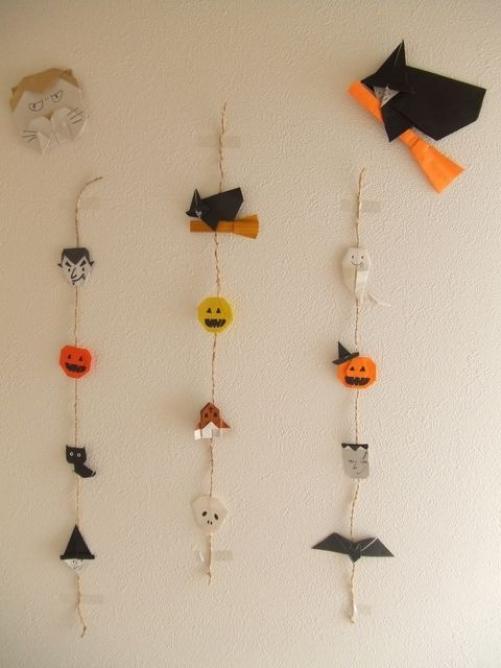 すべての折り紙 折り紙 ガーランド 作り方 : ... 折り紙グッズとデコアイデア集