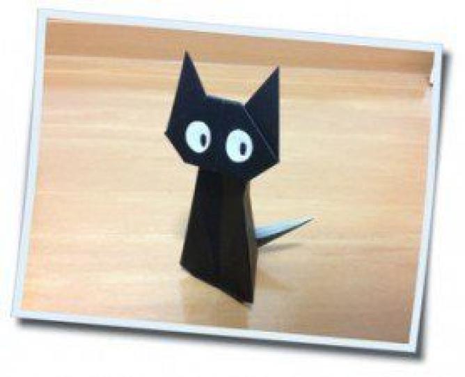 すべての折り紙 折り紙パンダ顔折り方 : ... 折り紙グッズとデコアイデア集