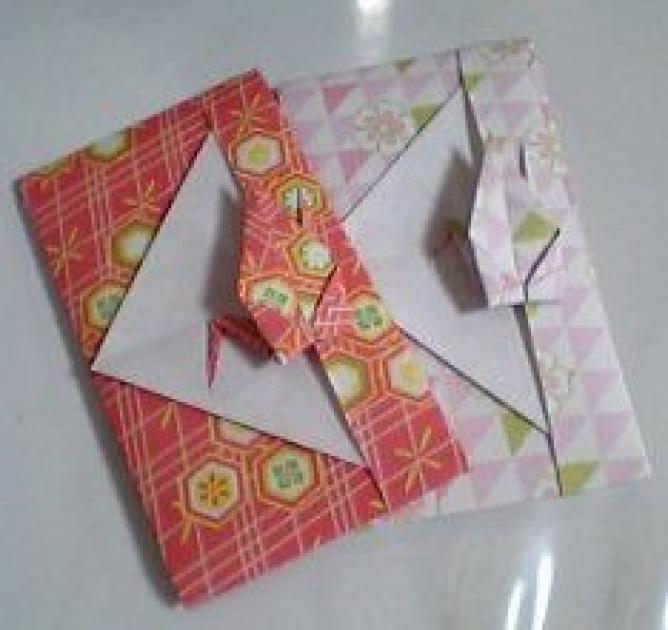 クリスマス 折り紙 折り紙 ぽち袋 : weboo.link