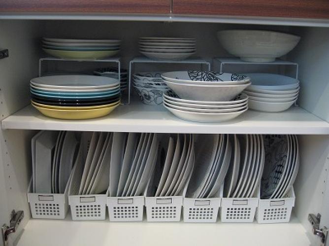食器 棚 収納 術 100 均