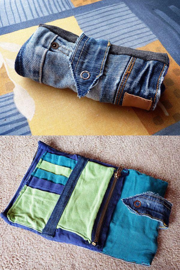 Как сделать полоски джинсам 452