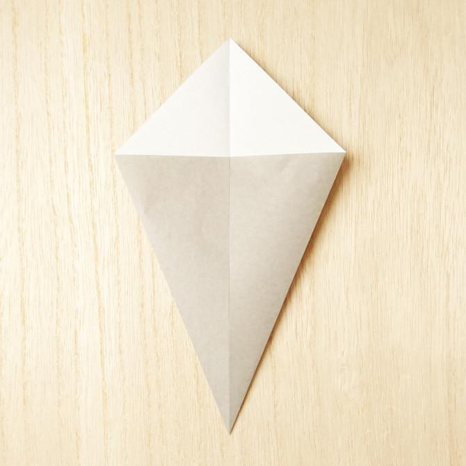 すみっこ ぐらし 折り紙 ねこ