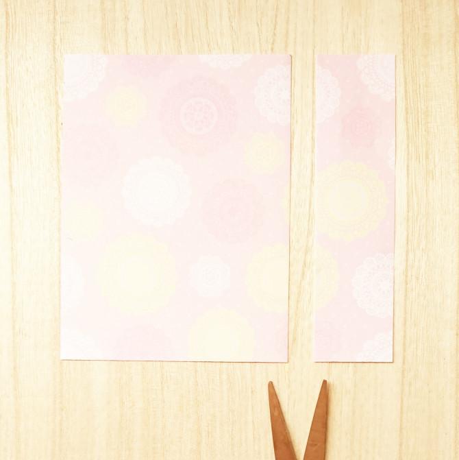 長方形で作る折り紙のハートの手紙の作り方 Webooウィーブー