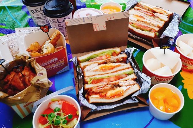 弁当 ピクニック お