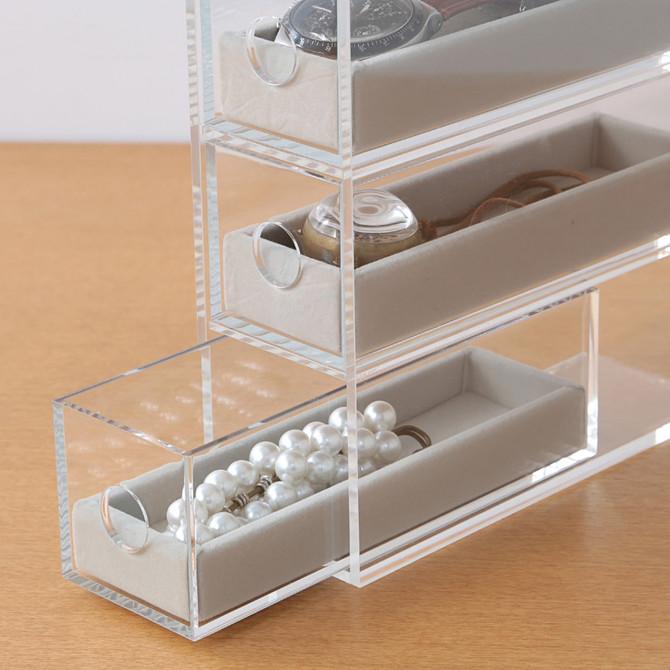 無印良品の「アクリルメガネ・小物ケース」が凄い!フル活用させる収納技!【16選】 Weboo ウィーブー 自分